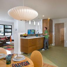 Contemporary Kitchen by WORKSHOP8 architecture planning design