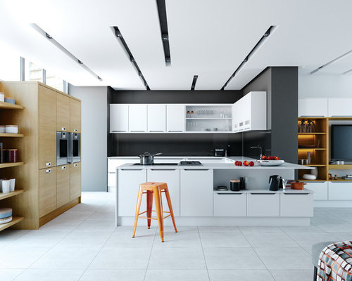 kitchen lighting ideas houzz. Example Of A Trendy Kitchen Design In Other Lighting Ideas Houzz I
