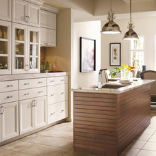 Contemporary Kitchen by MasterBrand Cabinets, Inc.