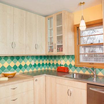 On Point Mid Century Modern Kitchen