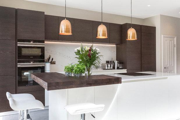 コンテンポラリー キッチン by dRAW Architecture