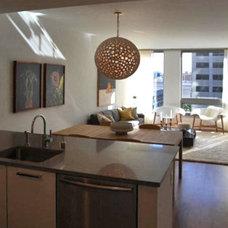 Modern Kitchen by W. David Seidel, AIA - Architect