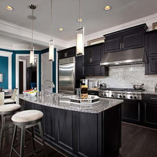 Contemporary Kitchen by Laura Manning Bendik