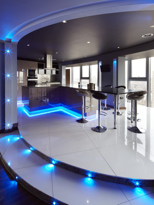 futuristic lighting houzz