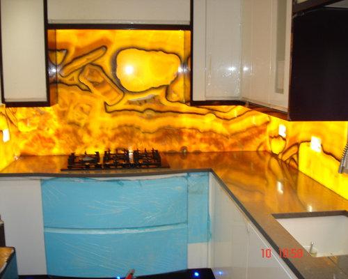Onyx splashback home design ideas renovations photos for Mobilia furniture hire