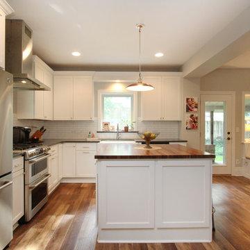 Open Concept Family Kitchen
