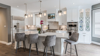 Open Concept Kitchen and Family Room
