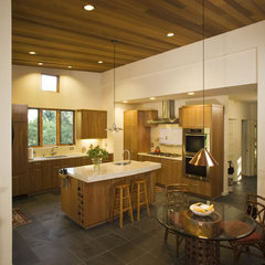 contemporary kitchen by Darrough Construction, Inc.