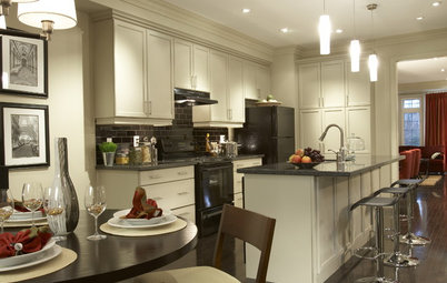 Cabinet Colors for Dark Appliances