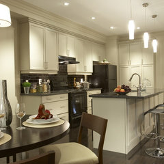 contemporary kitchen by David Nosella Interior Design