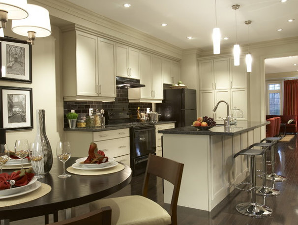 Traditional Kitchen by David Nosella Interior Design