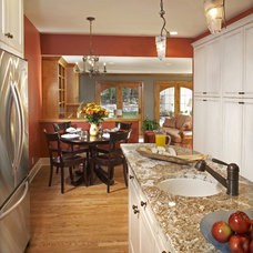 Contemporary Kitchen by Design Group Three