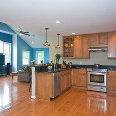 Traditional Kitchen by Schroeder Design/Build, Inc.