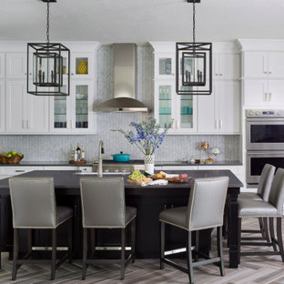 Cute Room Decor Ideas, White Cabinets With Black Countertops Houzz
