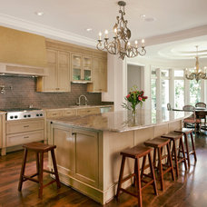 Traditional Kitchen by Michael Lyons Architect