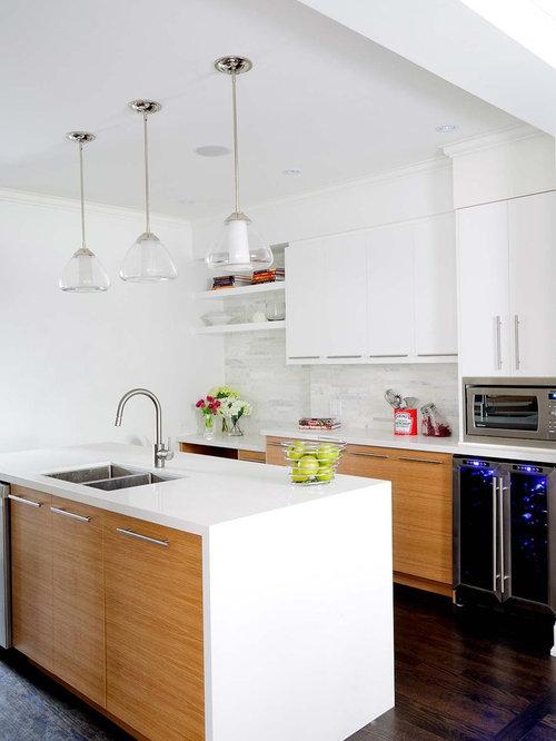 best rift cut oak cabinets design ideas remodel pictures