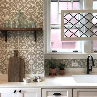 Open Craftsman Kitchen