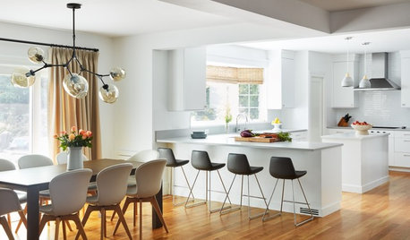 Kitchen of the Week: Clean and Contemporary With Easy Flow
