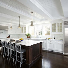 Transitional Kitchen by TR Building & Remodeling Inc.