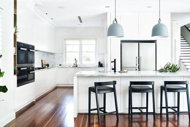 Scandinavian Kitchen by David Campbell Building Pty Ltd