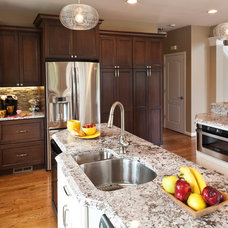 Transitional Kitchen by Owings Brothers Contracting