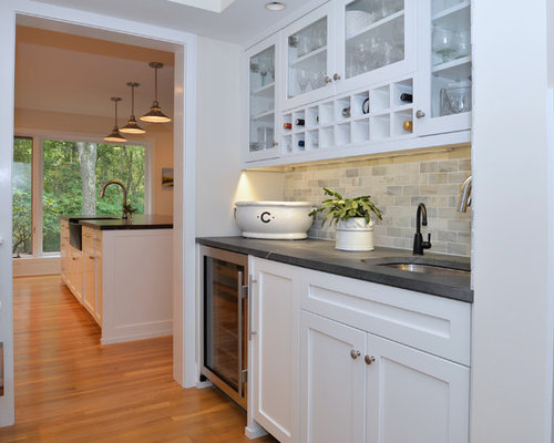 large contemporary kitchen pantry inspiration large trendy galley plywood floor kitchen pantry photo in philadelphia