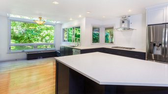 Open kitchen remodel project