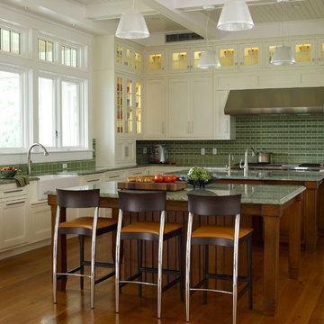 Open Kitchen with double islands