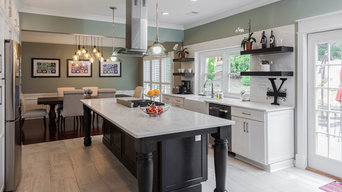Open Kitchen with Large Island