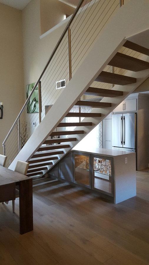 Open modern kitchen
