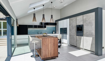 Open plan Industrial style kitchen