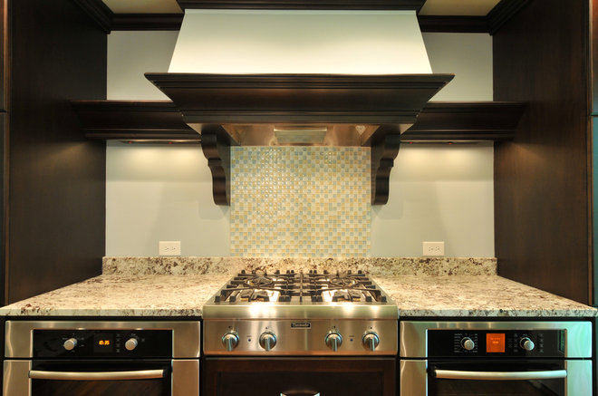 Contemporary Kitchen by Cynthia Karegeannes, Registered Architect