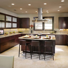 contemporary kitchen by Debbie R. Gualco