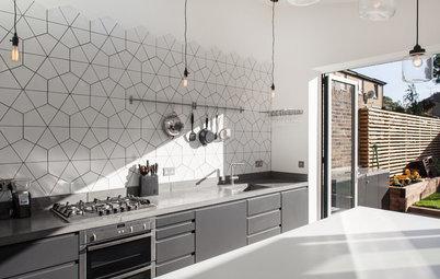 En detalle: Una cocina en plena conexión con el exterior