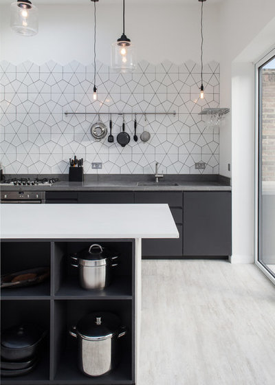 Contemporary Kitchen by Trevor Brown Architects