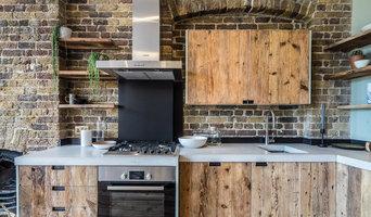 Open Plan Kitchen in Warehouse Conversion