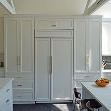 Contemporary Kitchen by Norman Orsinger Woodworking, Ltd.