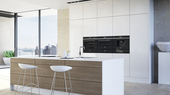 Open Plan Kitchen with Central Island - iQ700