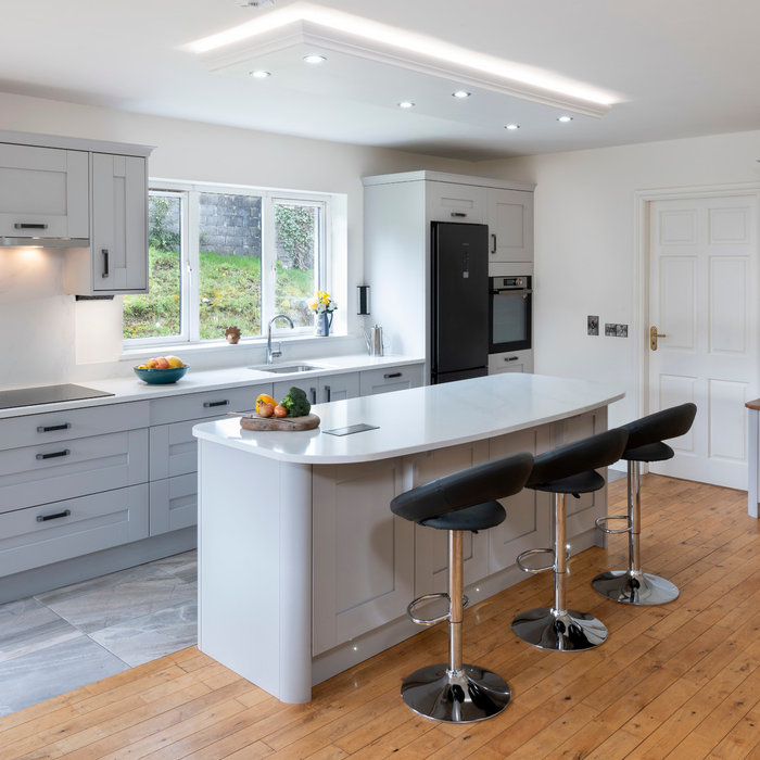 Open Plan Kitchen with Island