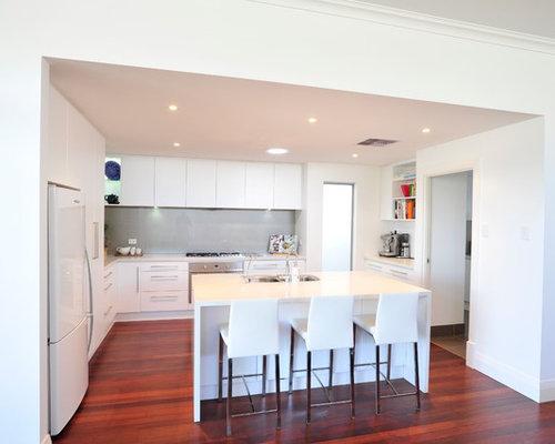 jarrah floorboards kitchen design ideas renovations photos