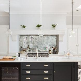 Open Plan Luxury Nickelby Kitchen | London