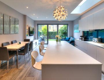 Open Plan Single Storey Kitchen Extension
