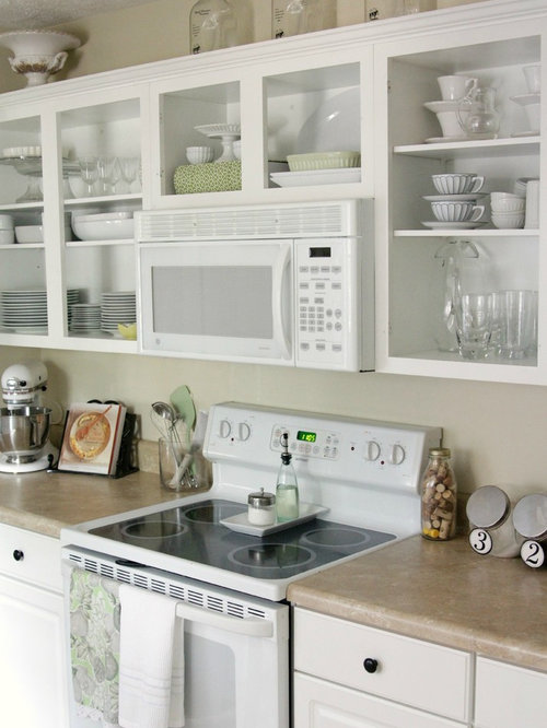 kitchen without cabinets houzz