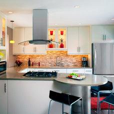 Contemporary Kitchen by Imagine That Kitchens + Baths