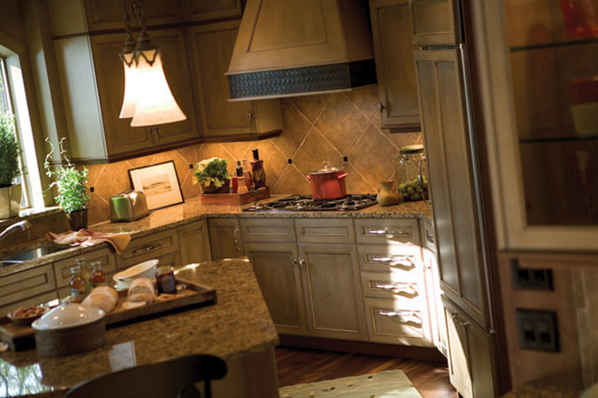 Rustic Kitchen by Dura Supreme Cabinetry