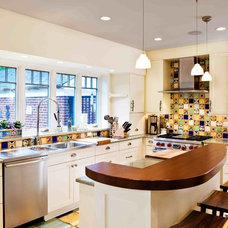 Eclectic Kitchen by Radifera Design Group, LLC