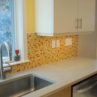 Orange Crush Kitchen