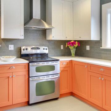 Orange Is the New Kitchen