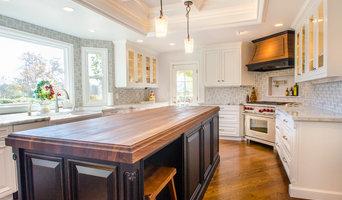 Orange Kitchen Remodel