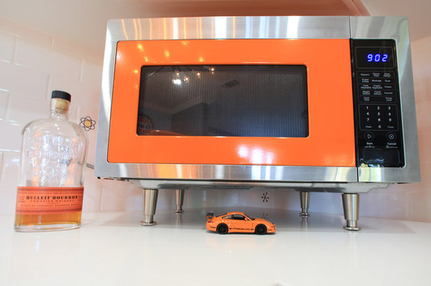 reader kitchen: a stunt driver's race car-inspired remodel